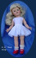 Toni Doll Slip