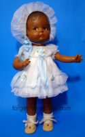 PatsyDoll Blue Organdy PartyDress