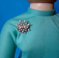 Cissy Doll Snowflake Pin
