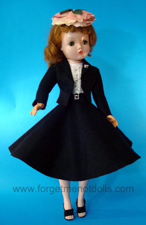 CissyDoll Black Secretary Outfit