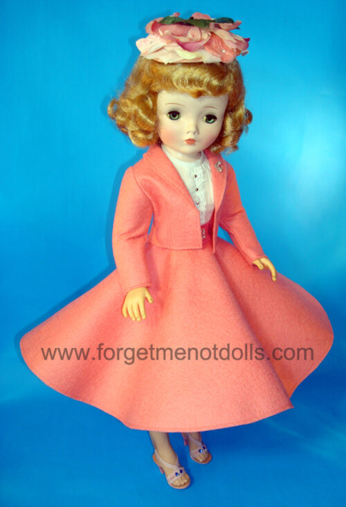 CissyDoll Coral Secretary Outfit