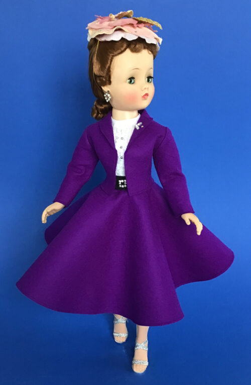 CissyDoll Purple Secretary Outfit