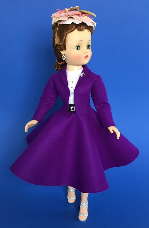 CissyDoll Purple Secretary Outfit