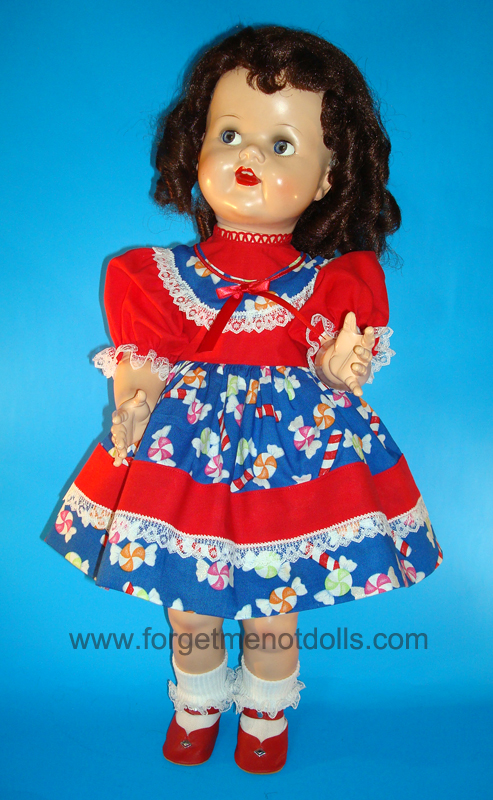 SaucyWalker Doll Christmas Dress