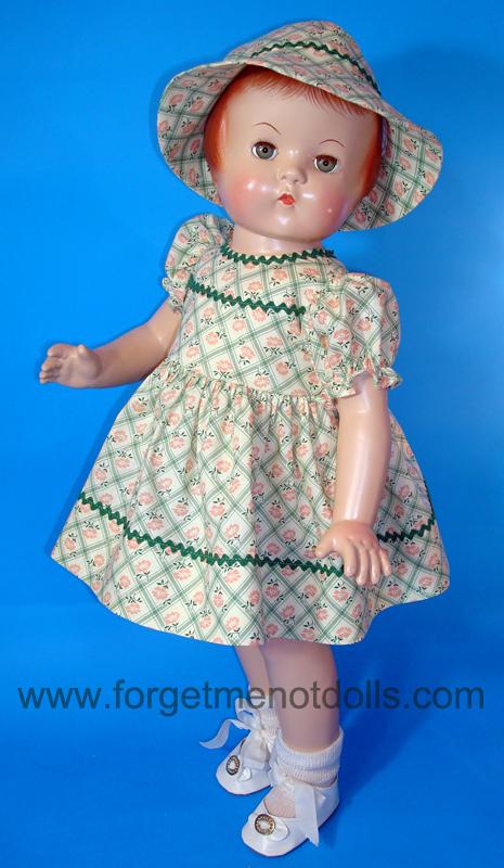 Green Patsy Day Dress&Hat