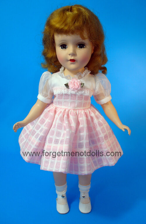 SweetSue OrgandySleeve Pink Dress