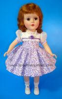 SweetSue OrgandySleeve Purple Dress