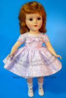 SweetSue FlowerTrim Purple Dress