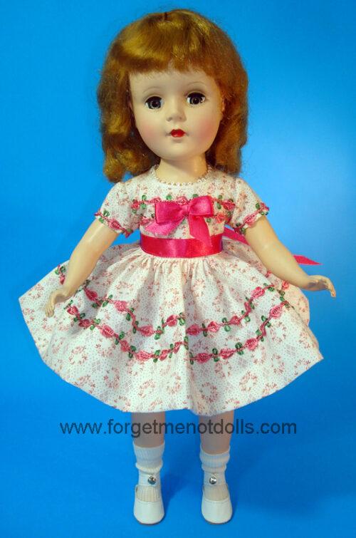 SweetSue FlowerTrim Rose Dress