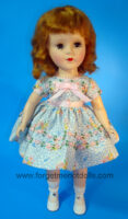 SweetSue FlowerTrim Blue Dress