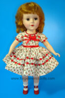 SweetSue FlowerTrim Red Dress